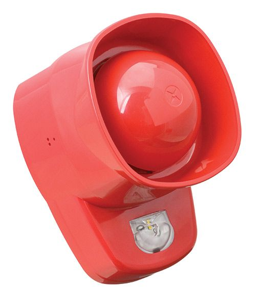 Ziton ZPW766R VAD/sounder (red)